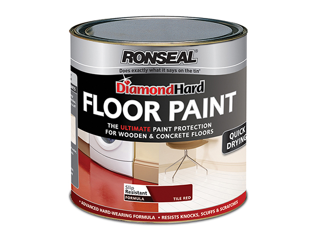Ronseal Diamond Hard Floor Paint Slate 2.5 Litre RSLDHFPSL25L