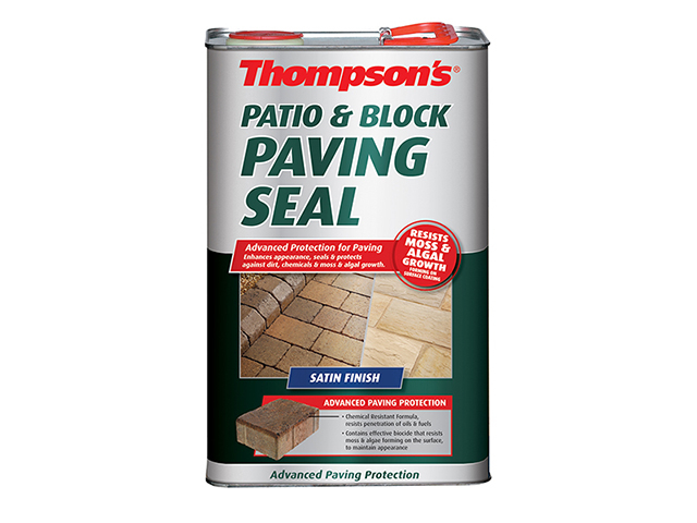 Ronseal Patio & Block Paving Seal Satin 5 Litre RSLPBPSS5L