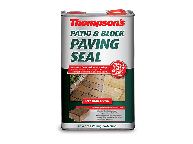Ronseal Patio & Block Paving Seal Wet Look 5 Litre RSLPBPSWL5L