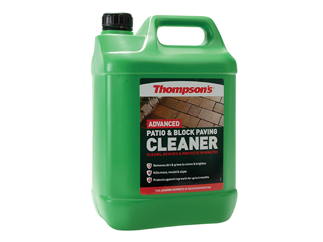 Ronseal Advanced Patio & Block Paving Cleaner 5 Litre RSLTPBPCP5L