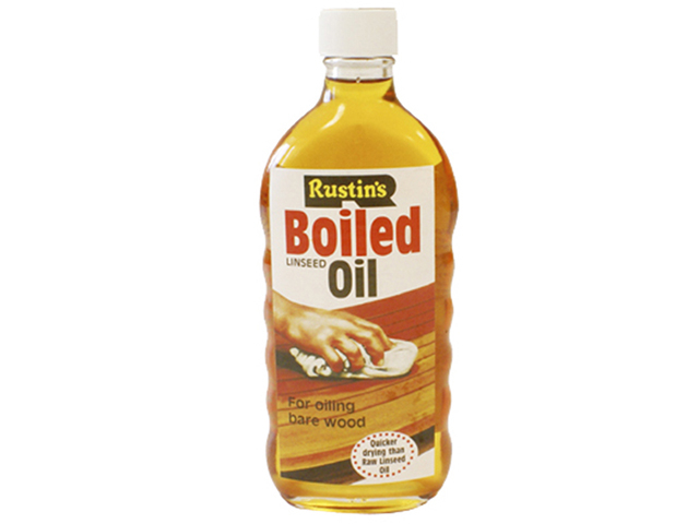Rustins Boiled Linseed Oil 125ml RUSLOB125