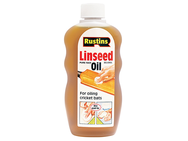 Rustins Raw Linseed Oil 500ml RUSLOR500