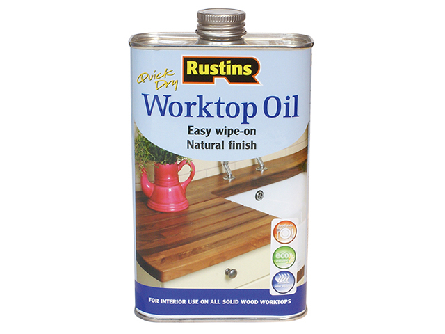 Rustins Worktop Oil 1 litre RUSWTO1L