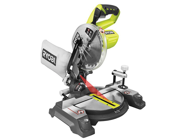 Ryobi EMS190DCL ONE+ Cordless Mitre Saw 18V Bare Unit RYBEMS190DCL