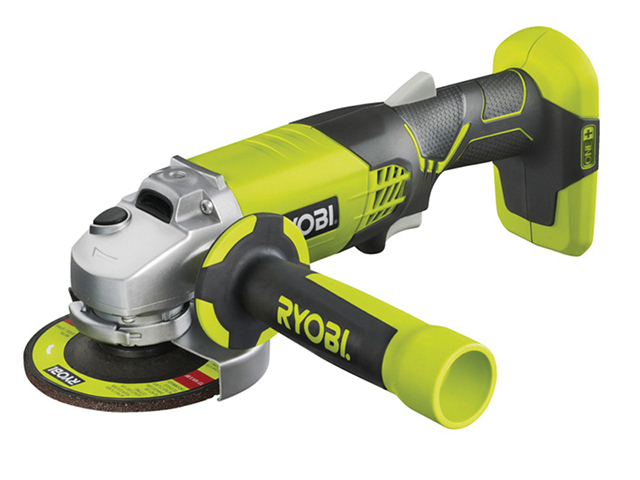Ryobi R18AG0 ONE+ Angle Grinder 115mm 18V Bare Unit RYBR18AG0