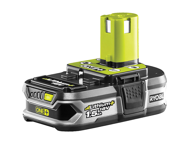 Ryobi RB18L15 ONE+ Battery 18V 1.5Ah Li-ion RYBRB18L15