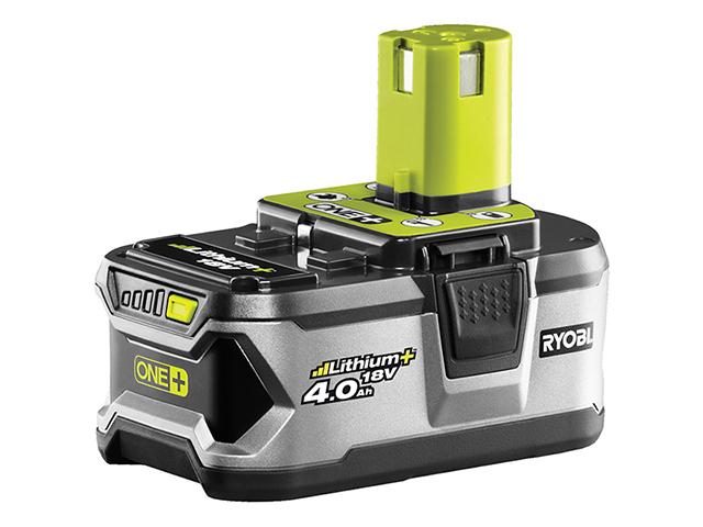 Ryobi RB18L40 ONE+ Battery 18V 4.0Ah Li-ion RYBRB18L40