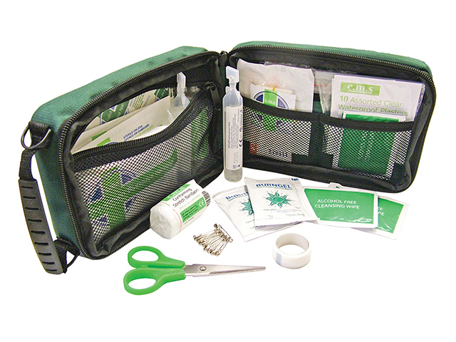 Scan Household & Burns First Aid Kit SCAFAKGP