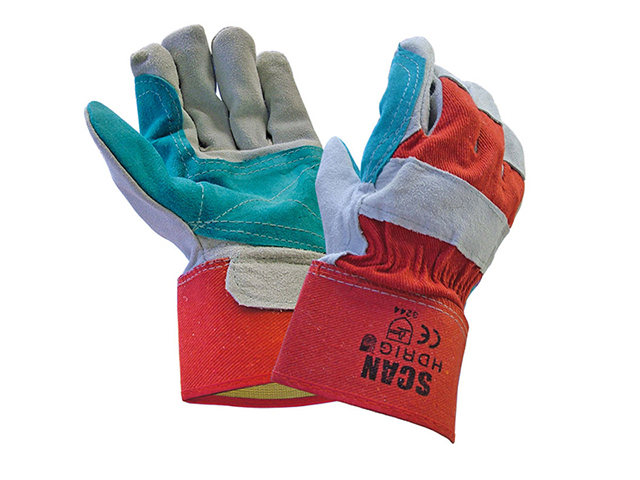 Scan Heavy-Duty Rigger Gloves - Large SCAGLOHDRIG