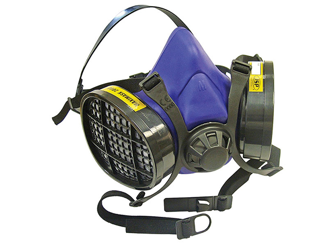 Scan Twin Half Mask Respirator + A1 Refills SCAPPERESPA1