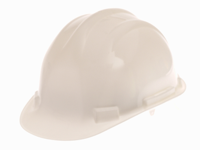 Scan Deluxe Safety Helmet White SCAPPESHDELW