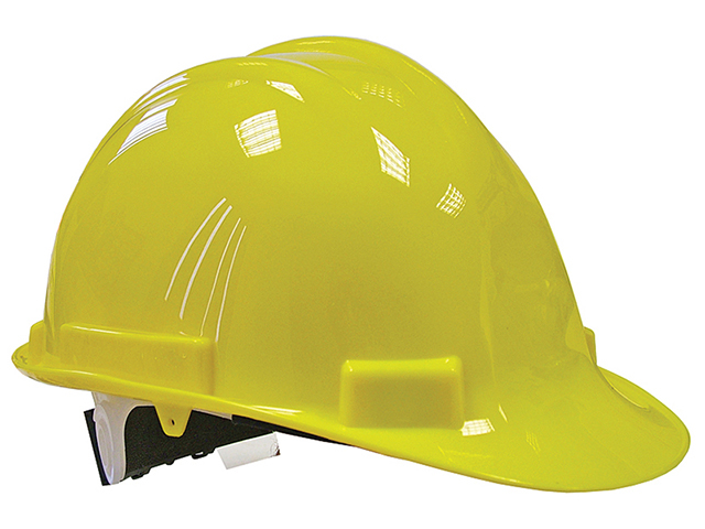 Scan Deluxe Safety Helmet Yellow SCAPPESHDELY