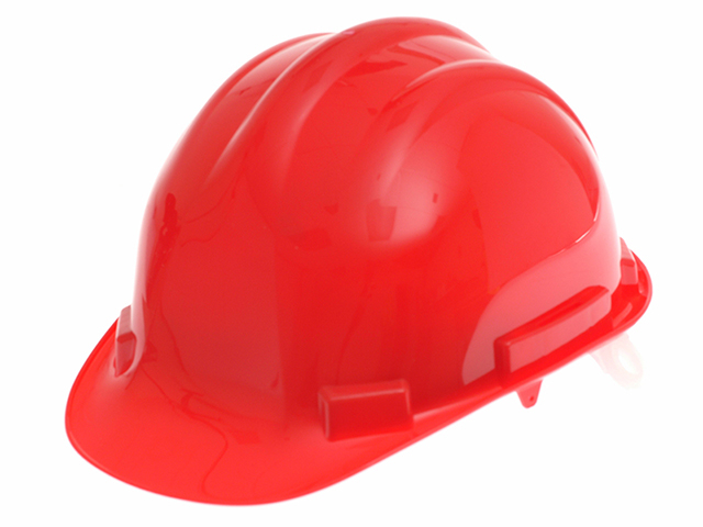 Scan Safety Helmet Red SCAPPESHR