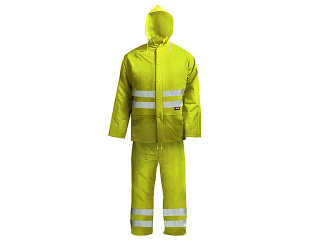 Scan Hi-Visibility Rain Suit Yellow - L (39-42in) SCAWWHVRSYL