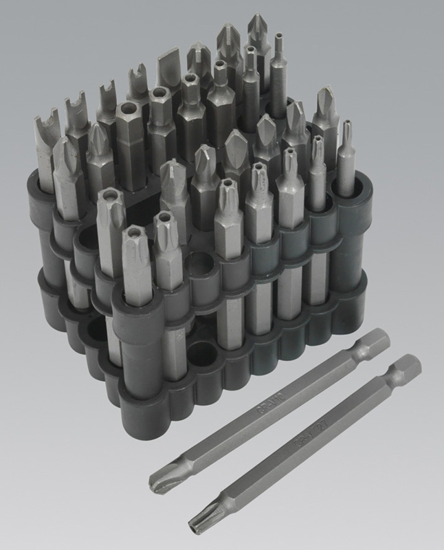 Sealey Power Tool Bit Set 32pc 75mm Security