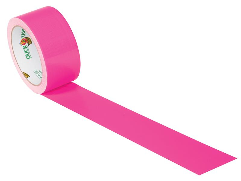 Shurtape Duck Tape® 48mm x 13.7m Neon Pink SHU1265016