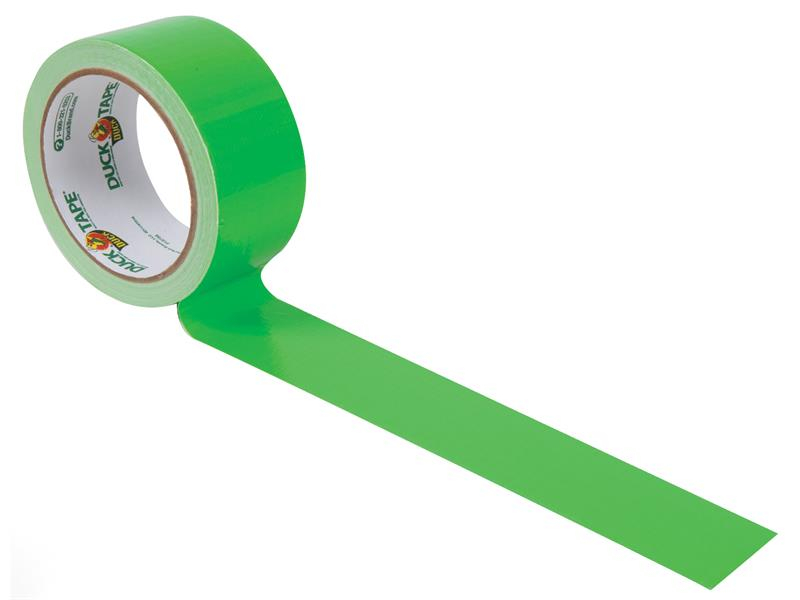 Shurtape Duck Tape® 48mm x 13.7m Twist of Lime SHU1265018