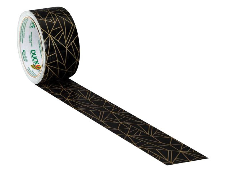 Shurtape Duck Tape® 48mm x 9.1m Gold Geometric SHU241794