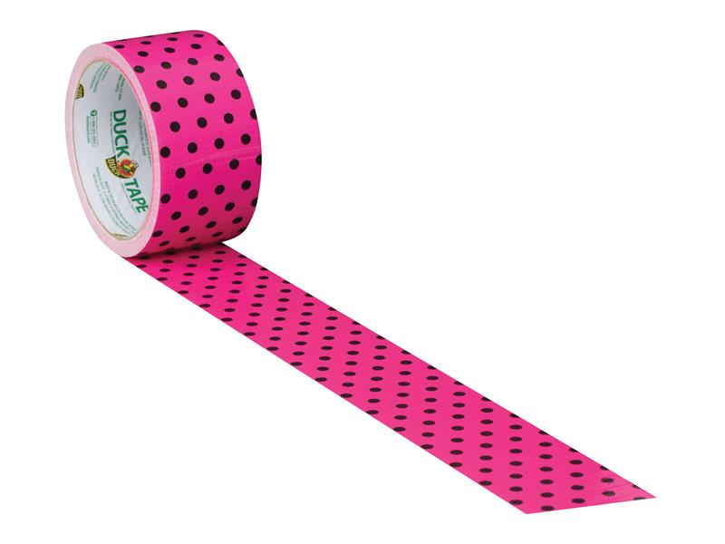 Shurtape Duck Tape® 48mm x 9.1m Polka Dot SHU285221