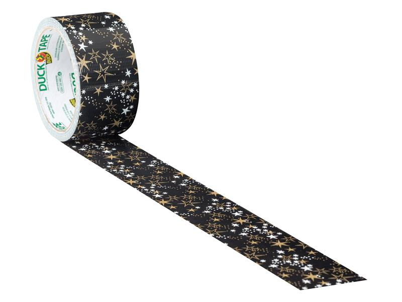 Shurtape Duck Tape® 48mm x 9.1m Metallic Stars SHU285223