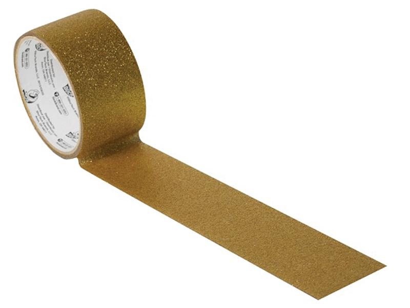 Shurtape Duck Tape® 47mm x 4.5m Glitter Gold SHU285443