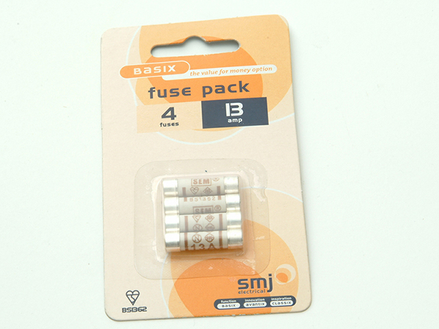 SMJ 13A Fuses (Pack of 4) SMJFU13AC