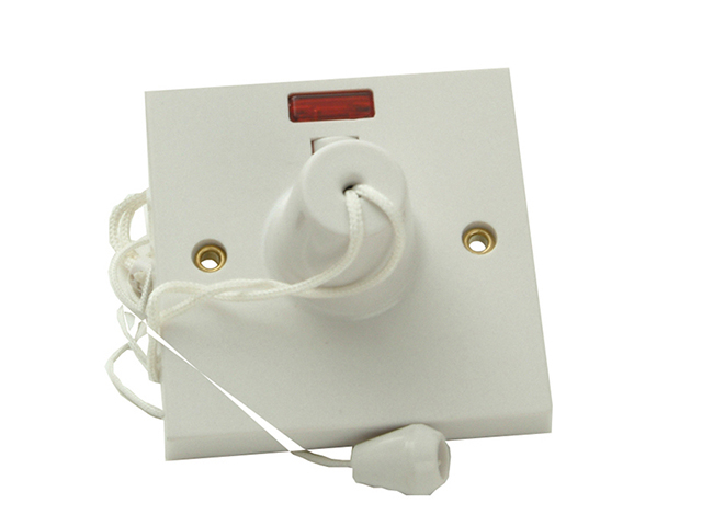 SMJ Ceiling Switch & Neon 45A Double Pole SMJW45CSC