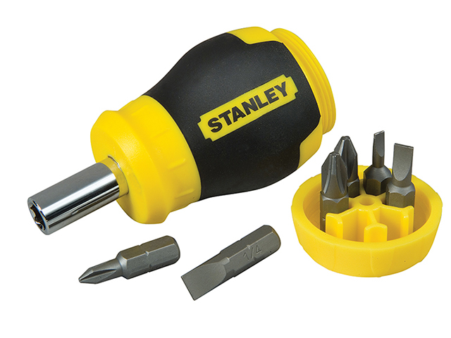 Stanley Tools Stubby Screwdriver - Non Ratchet STA066357