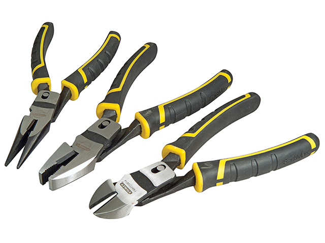 Stanley Tools FatMax® Compound Action Pliers Set 3 Piece STA072415