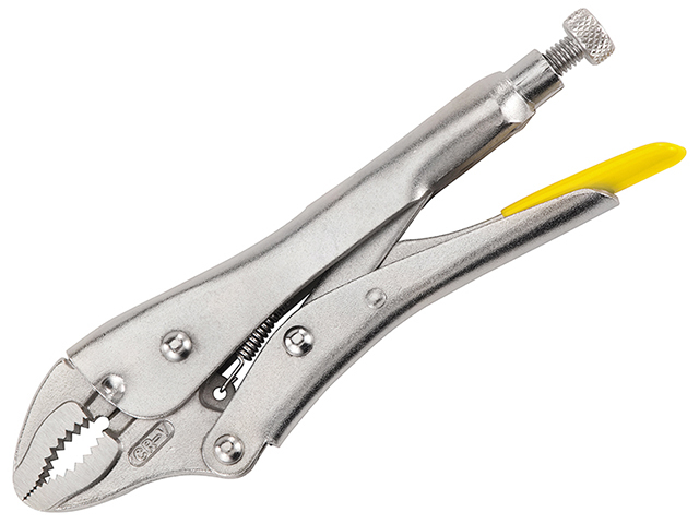 Stanley Tools Curved Jaw Locking Pliers 178mm (7in) STA084808