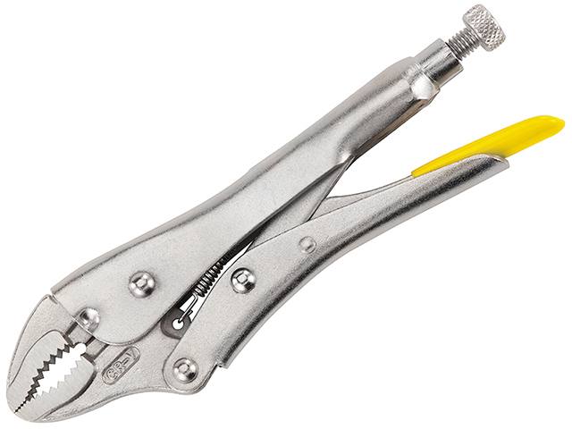 Stanley Tools Curved Jaw Locking Pliers 225mm (9in) STA084809