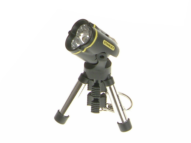 Stanley Tools Maxlife 369 LED Keyring Tripod Torch 0 95 113 STA095113