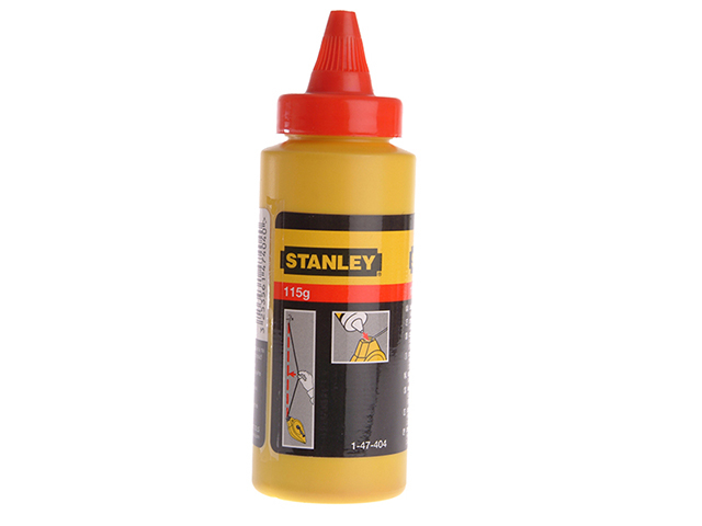Stanley Tools Chalk Refill Red 113g STA147404