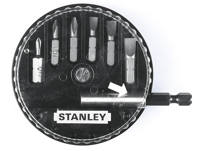 Stanley Tools Insert Bit Set Phillips/Slotted 7 Piece STA168735