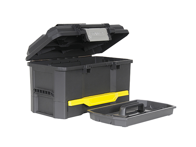 Stanley Tools One Touch Toolbox with Drawer 48cm (19in) STA170316