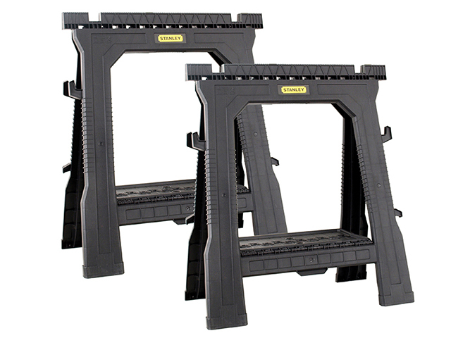 Stanley Tools Folding Sawhorses (Twin Pack) STA170713