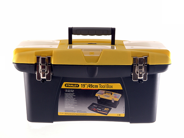 Stanley Tools Jumbo Toolbox & Tray 50cm (19in) STA192906
