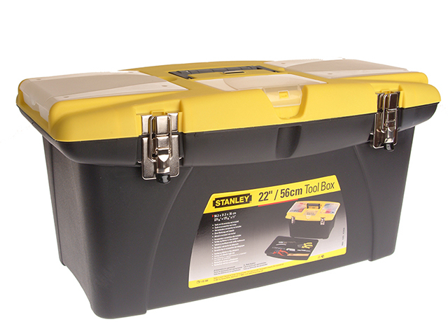 Stanley Tools Jumbo Toolbox & Tray 55cm (22in) STA192908