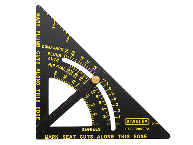 Stanley Tools Adjustable Quick Square 170mm (6.3/4in) STA46053