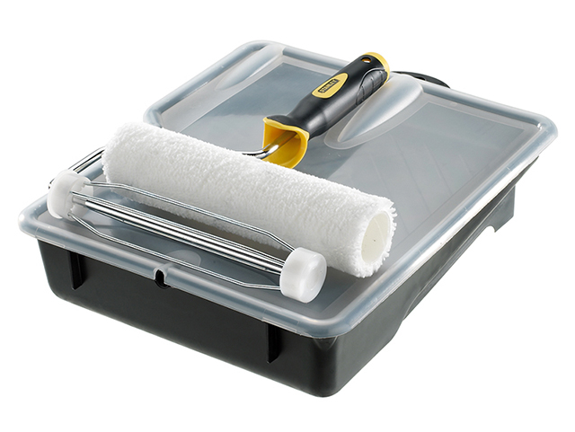Stanley Tools Microfibre Roller Set 230 x 38mm (9 x 1.1/2in) STASTRSMSFQ