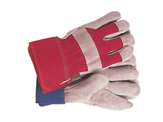 Town & Country TGL106M General Purpose Navy/Red Gloves Ladies' - Medium T/CTGL106M