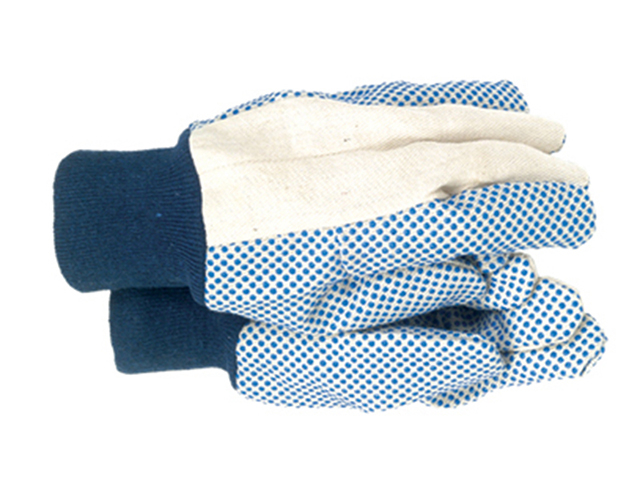 Town & Country TGL404 Men's Dotted Canvas Gloves T/CTGL404