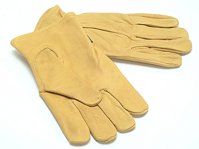TGL408L Men's Grain Cowhide Gloves Men's - Large