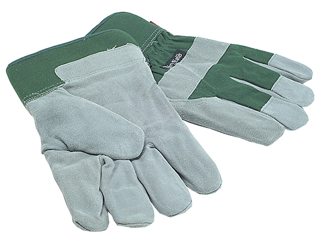 TGL412 Men's Fleece Lined Leather Palm Gloves