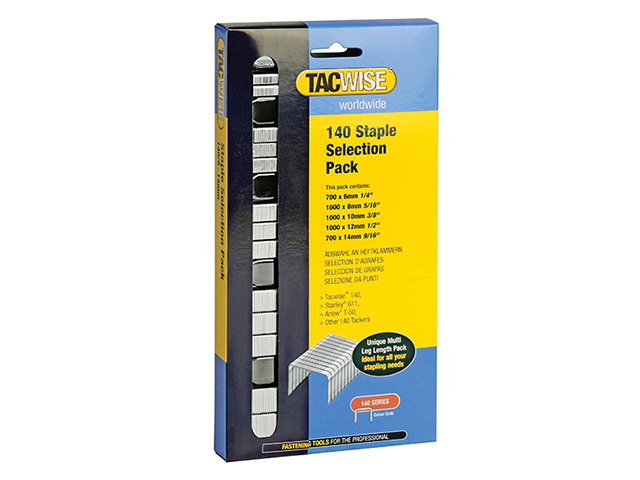140 Heavy-Duty Staples (Type T50  G) Selection Pack 4400