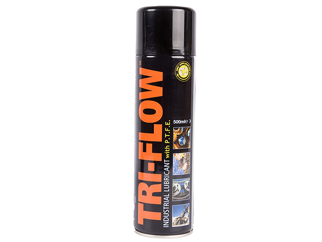 Tri-Flow 34691 Industrial Lubricant with PTFE 500ml TFL500