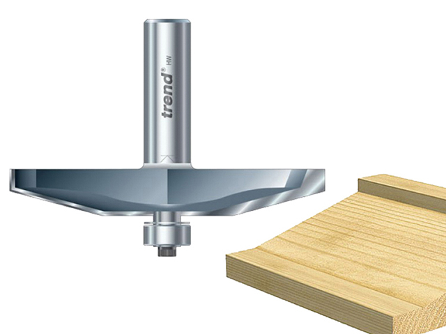 Trend 18/80 x 1/2 TCT Bearing Guided Bevel Panelling 15° TRE188012TC