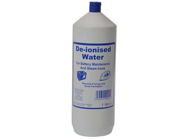 TUW De-ionised Water 1 litre TUW1