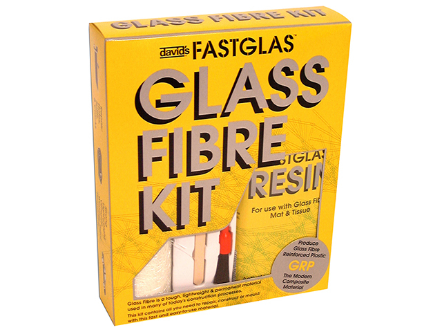U-POL ISOPON® FASTGLAS Resin & Glass Fibre Kit Large UPOGLLAD
