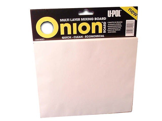 U-POL Onion Board Multi Layer Mixing Palette 1 Pack (100 Sheets) UPOON1
